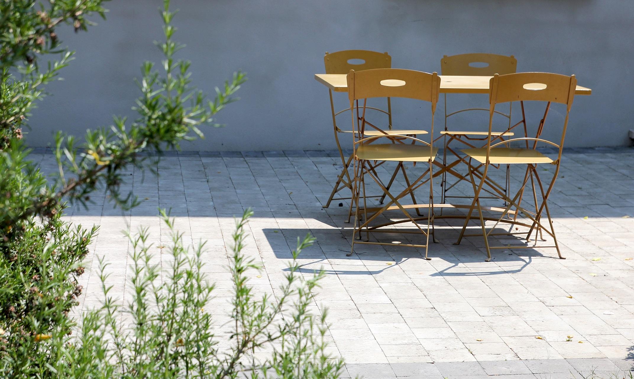 Dallages et pavages, création de terrasses