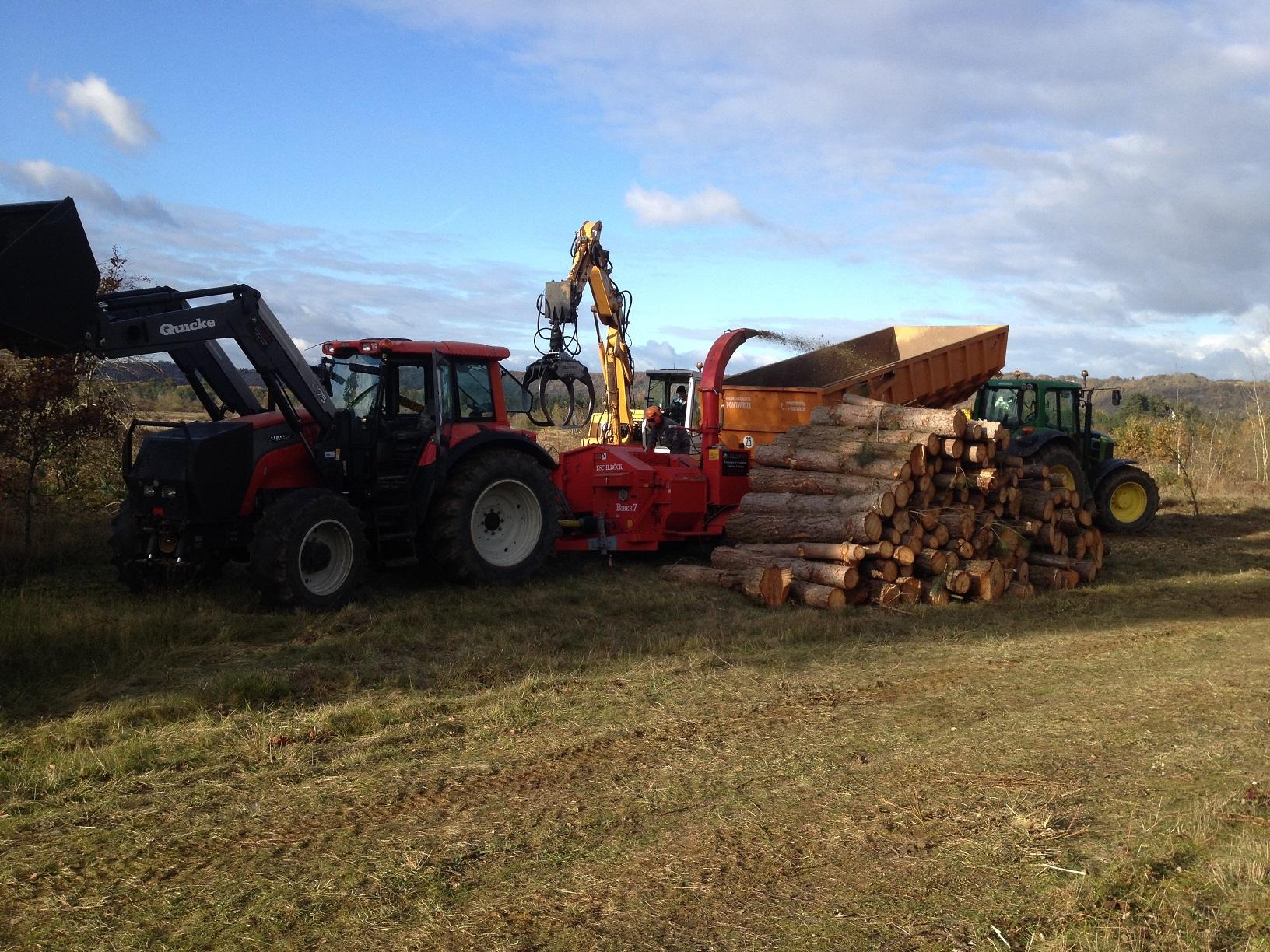 Travaux en forêt pour les propriétaires forestiers