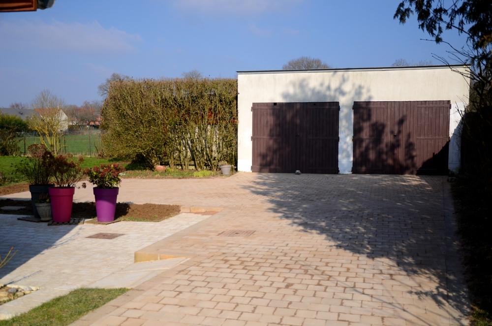 Repensez votre all e de garage le pavage fl jardin for Pavage allee garage