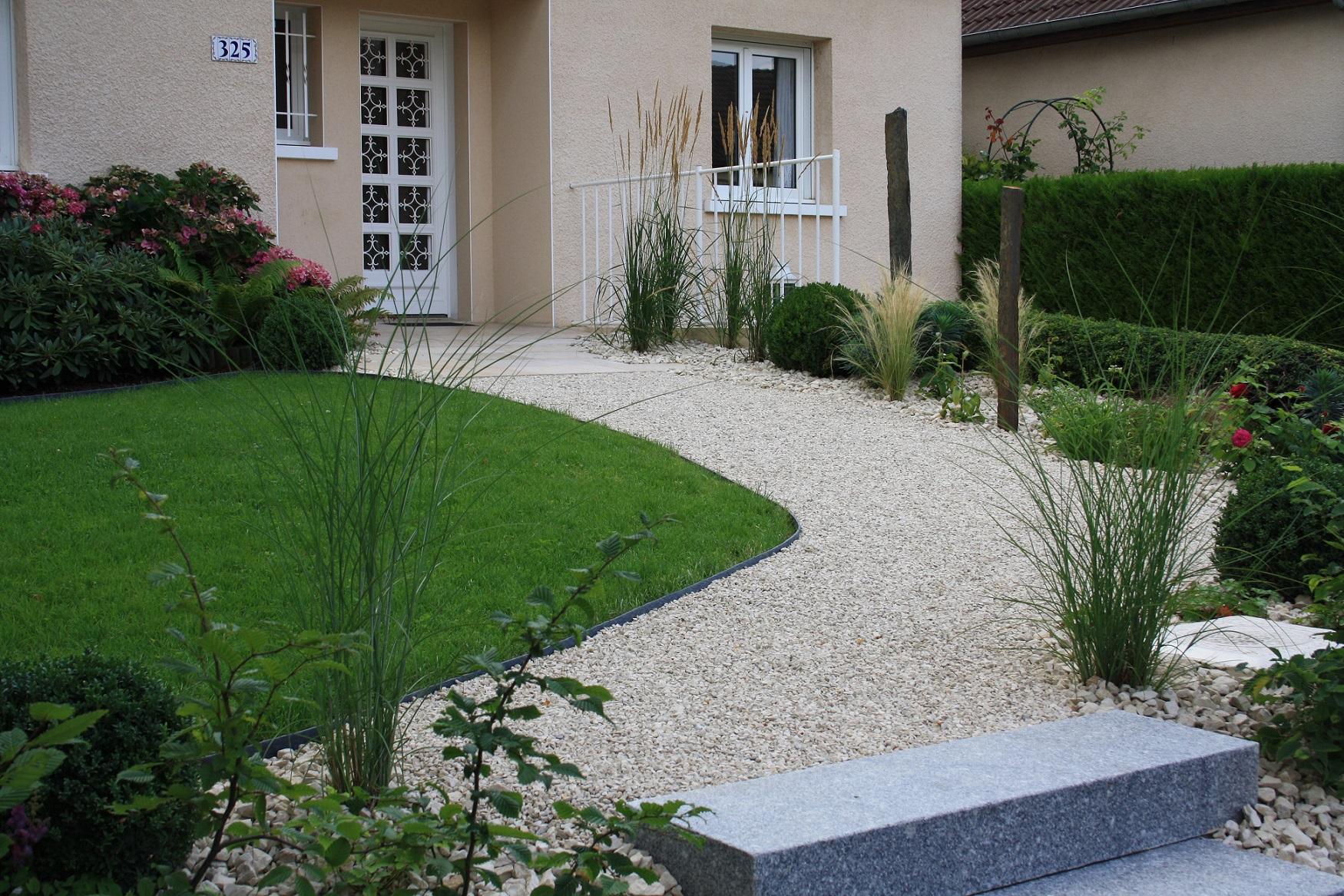 Deco Allee De Maison allée, accès maison/ garage - fl jardin paysagiste dans la marne